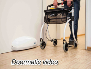 Certainly for senior people wheelchairs the Doormatic is a convenient tool to pass the door easily. Opening a door towards yourself (inside movement) is ... & Senior Chair